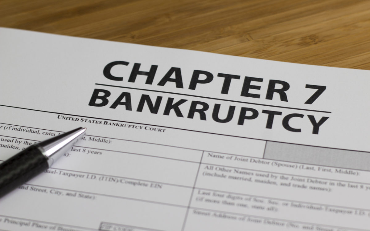 When a Customer Files for Bankruptcy